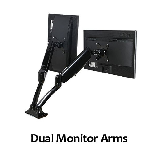 Dual Monitor Arm for Gallery