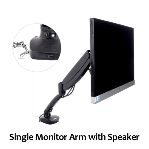 Single Monitor Arm for Gallery
